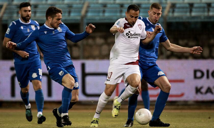 Λαμία - ΑΕΛ 0-0: Καθάρισαν οι γηπεδούχοι, ελπίζουν οι φιλοξενούμενοι
