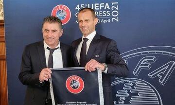 Συνάντηση Ζαγοράκη – Τσέφεριν: Στο πλευρό της UEFA η ΕΠΟ