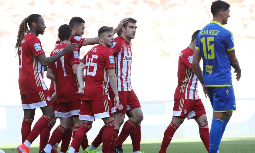 Ολυμπιακός - Αστέρας Τρίπολης: Το γκολ του Παπασταθόπουλου για το 1-0 (vid)