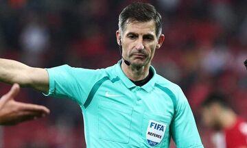 Euro 2020: Οι διαιτητές που θα σφυρίξουν, εκτός ο Σιδηρόπουλος