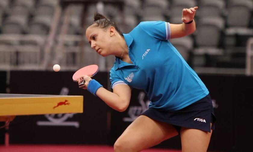 Πινγκ πονγκ: Εκτός συνέχειας η Τόλιου στο ευρωπαϊκό προολυμπιακό τουρνουά
