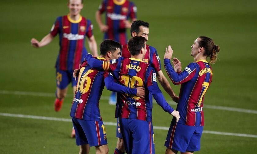 La Liga: Με Μέσι και... πεντάρα (5-2) την Χετάφε η Μπαρτελόνα (highlights)