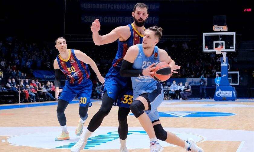 EuroLeague - Game 2: ΤΣΣΚΑ - Φενέρμπαχτσε και Μπαρτσελόνα - Ζενίτ