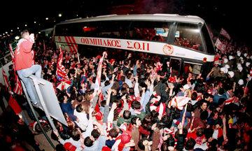 Όταν ο κόσμος του Ολυμπιακού έκανε τη νύχτα... μέρα!
