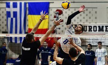 Βόλεϊ: Η εθνική ανδρών 3-0 τη Ρουμανία στο πρώτο φιλικό του Βραχατίου