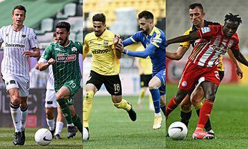 Super League - Playoffs: Μάχες σε Τούμπα, Τρίπολη, με ΑΕΚ ο Ολυμπιακός