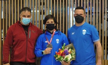 Πρεβολαράκη: «Στόχος οι Ολυμπιακοί Αγώνες, είμαι σε καλό δρόμο»