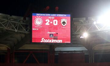 Πλέι οφ - Super League 1: Θρύλος νικητής, «Χ» σε Τούμπα και Τρίπολη (highlights - βαθμολογία)