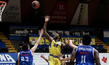Περιστέρι- Λάρισα 80-56: Βελτιώθηκε και κέρδισε (highlights)