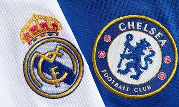 Champions League: Πρώτη, ιστορική μάχη Ρεάλ Μαδρίτης - Τσέλσι!