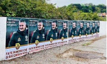 Ρόμα: Αφίσες στο προπονητικό κέντρο εναντίον του Σόλσκιερ
