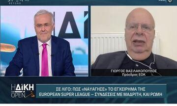 Βασιλακόπουλος: «Υπάρχουν άνθρωποι που έχουν πρόβλημα με την ηλικία μου» (vid)