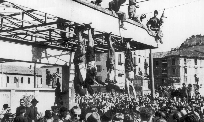 Η εκτέλεση του Μουσολίνι (vid)
