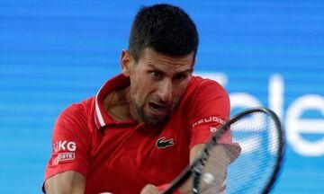 Madrid Open: Αποσύρθηκε ο Τζόκοβιτς