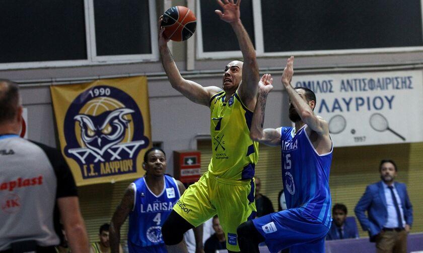 Λαύριο - Λάρισα 81-75: Aπτόητη η ομάδα του Σερέλη
