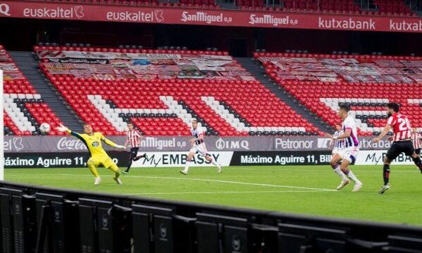 La Liga: Είχε... απαντήσεις (2-2) η Ρεάλ Βαγιαδολίδ μέσα στο Μπιλμπάο (Ηighlights)