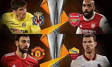 Europa League: Ημιτελικές μάχες σε Βιγιαρεάλ και Μάντσεστερ!