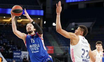 EuroLeague: Να ισοφαρίσει η Ρεάλ, να το τελειώσει η Εφές