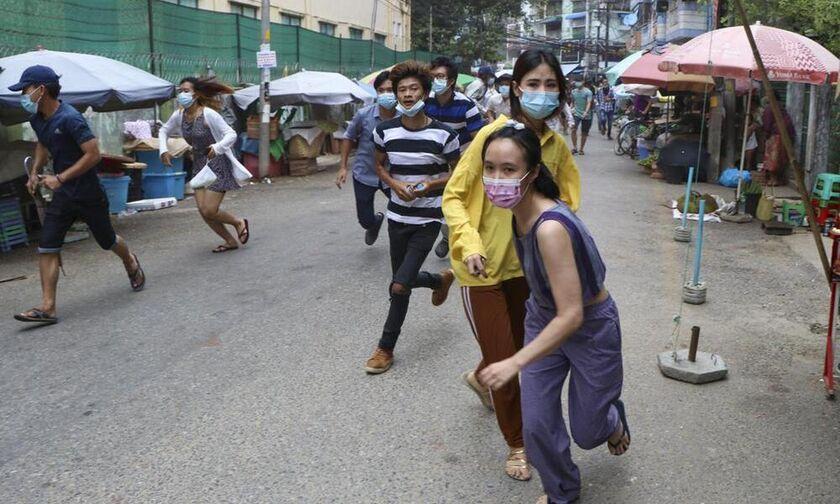 Μιανμάρ: Επιθέσεις εναντίον δυο αεροπορικών βάσεων