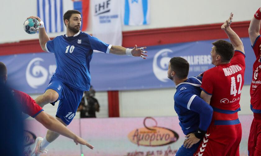 Ελλάδα - Σερβία 25-27: Ήττα για τη «γαλανόλευκη»