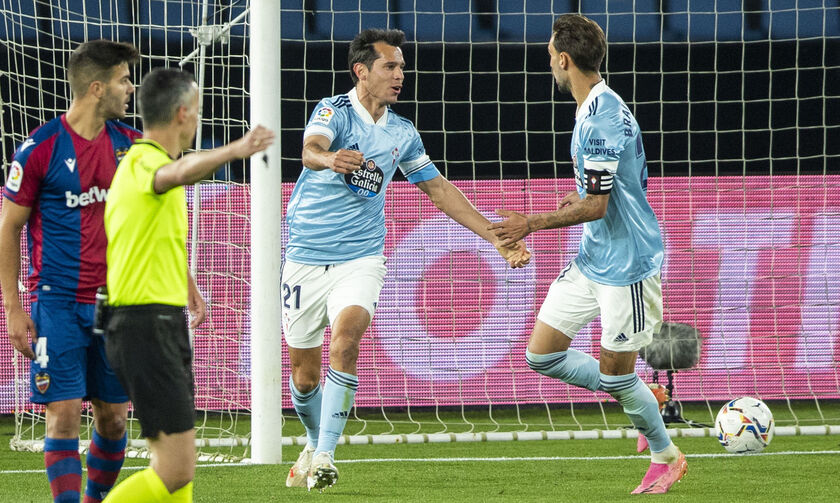 La Liga: Η Θέλτα νίκησε με 2-0 τη Λεβάντε