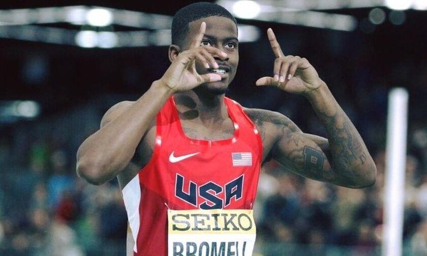 Φλόριντα: Ο Μπρόμελ την καλύτερη επίδοση στα 100 μ.