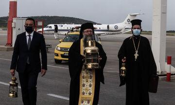 Το Άγιο Φως στην Ελλάδα (vid)