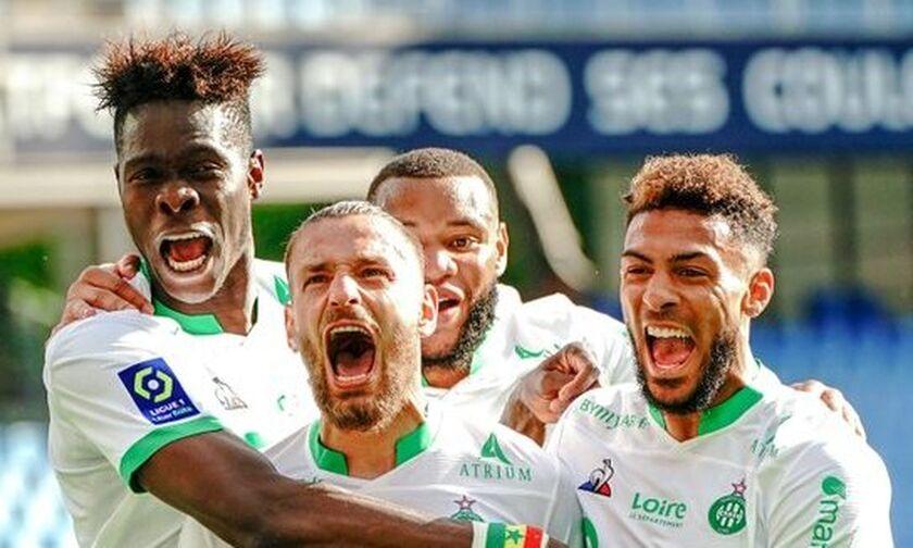 Ligue 1: Ανατροπή παραμονής η Σεντ Ετιέν (hls)
