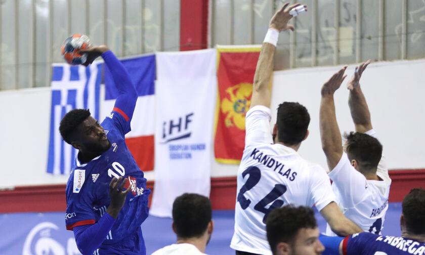 Εθνική Χάντμπολ Ανδρών: Βαριά ήττα από τη Γαλλία (46-30) και αποκλεισμός
