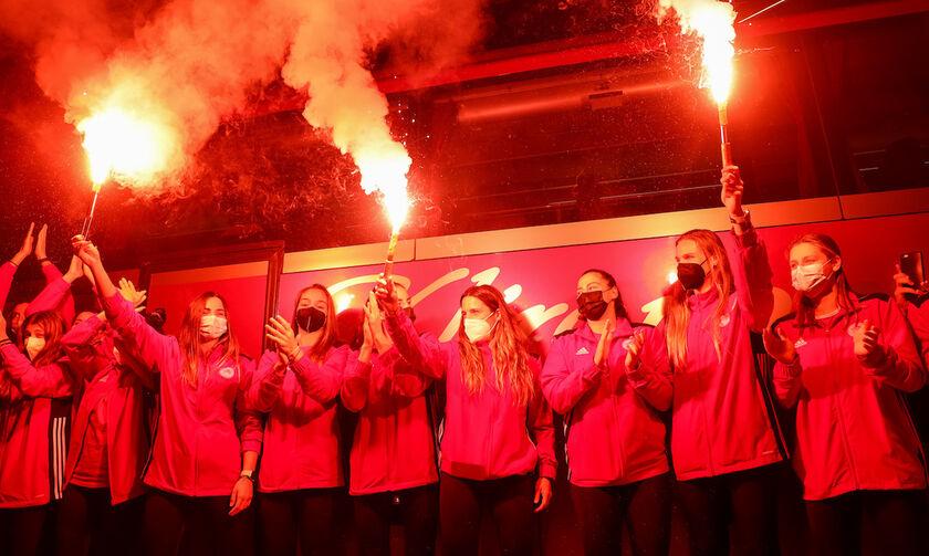 Το βίντεο του Ερασιτέχνη Ολυμπιακού με τις πρωταθλήτριες Ευρώπης (vid)