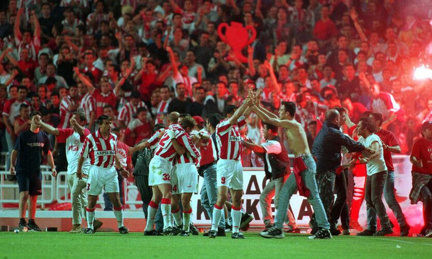 Το «μάγκικο» Κύπελλο του Ολυμπιακού το 1999