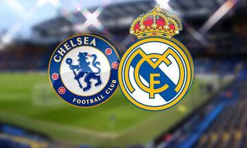 LIVE: Τσέλσι - Ρεάλ Μαδρίτης 2-0: Στον τελικό οι Λονδρέζοι