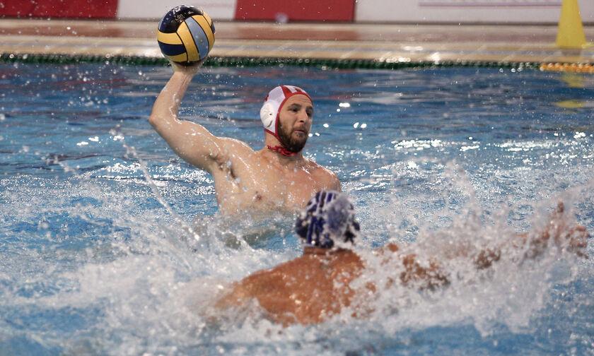 Ολυμπιακός - Απόλλων Σμύρνης 12-11: Ο Ζερδεβάς απέκρουσε πέναλτι του Γούνα και έγινε το 1-0! (vid)