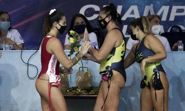 Ολυμπιακός – ΑΕΚ 18-5: Σίφουνας ο πρωταθλητής Ευρώπης