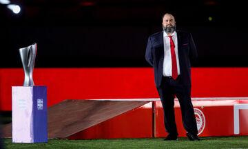 Ολυμπιακός: «Πήρε θέση» στην κερκίδα και ο Βαγγέλης Μαρινάκης