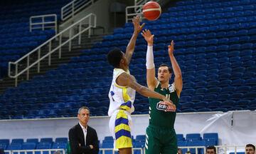 Παναθηναϊκός - Λαύριο 108-71: Στον τελικό του Κυπέλλου οι «πράσινοι» (highlights)