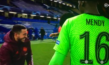 Η συγγνώμη του Αζάρ στους φίλους της Ρεάλ Μαδρίτης για τα γέλια μετά τον αποκλεισμό από την Τσέλσι