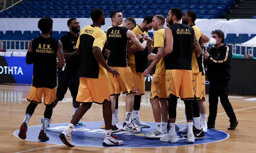 ΑΕΚ: Κρούσμα κορονοϊού στην ομάδα μπάσκετ