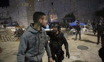 Εκατοντάδες τραυματίες μετά από συγκρούσεις Παλαιστινίων και Ισραηλινών αστυνομικών
