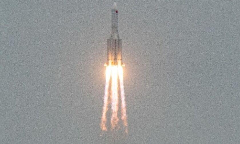Τα απομεινάρια του κινεζικού πυραύλου έπεσαν στον Ινδικό Ωκεανό