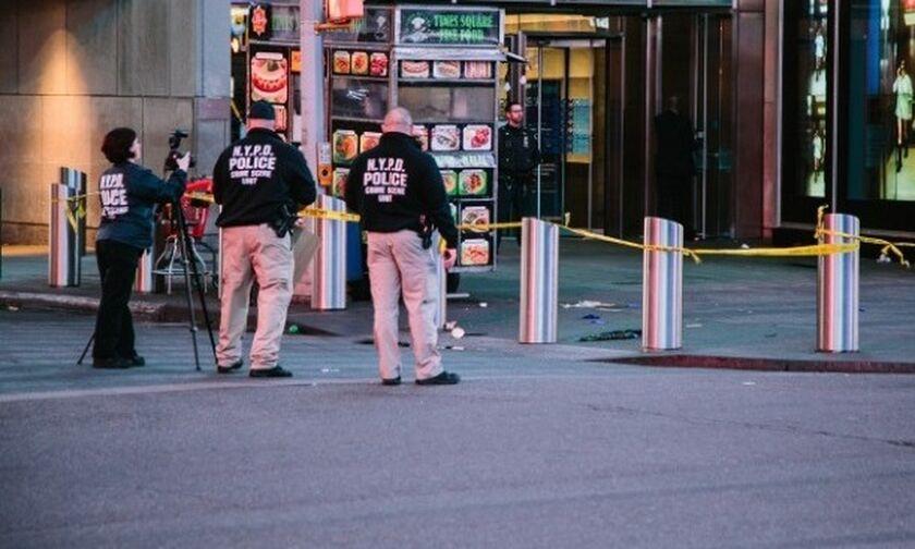 ΗΠΑ: Τρεις τραυματίες από πυροβολισμούς στην Τάιμς Σκουέρ