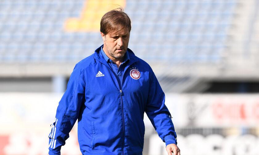 Αστέρας Τρίπολης-Ολυμπιακός 0-0: Μαρτίνς: «Ματς χωρίς ουσία»