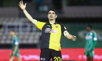 Παναθηναϊκός - ΑΕΚ: Το γκολ του Μάνταλου για το 0-1 (vid)
