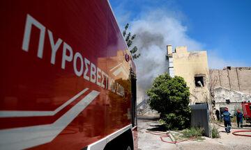 Νέα πυρκαγιά στην Αγία Μαρίνα Κορωπίου