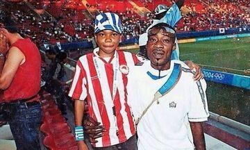 «Ολυμπιακός λόγω Τζιοβάνι, ο Αντετοκούνμπο» - Όταν ο... μπαμπάς Τσαρλς τον πήγαινε στο Καραϊσκάκη