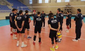Εθνική ανδρών βόλεϊ: Πανέτοιμη στην Ποντγκόριτσα για την πρόκριση στο Ευρωπαϊκό Πρωτάθλημα