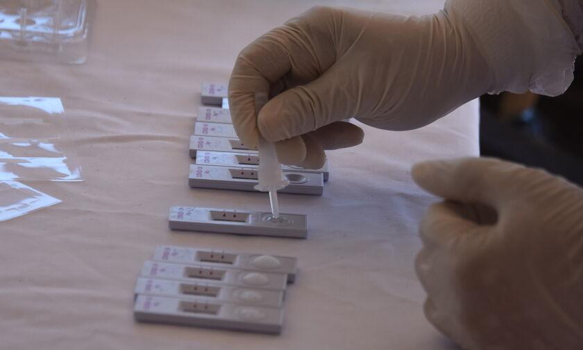 Δωρεάν rapid test: Τα σημεία όπου βρίσκονται ειδικά κλιμάκια του ΕΟΔΥ (12/5)