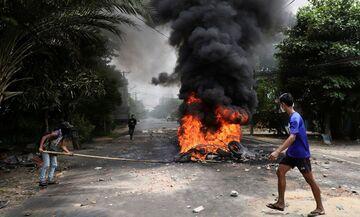 Μιανμάρ: Ο στρατός συνέλαβε 39 άτομα για εκρήξεις και εμπρηστικές επιθέσεις