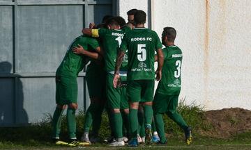 Football League: Η Ρόδος κέρδισε στις καθυστερήσεις 2-1 τη Νίκη στον Βόλο