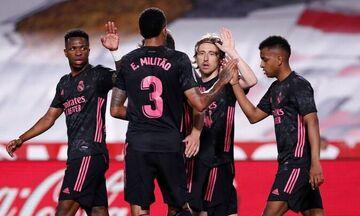 La Liga: Tεσσάρα στη Γρανάδα η Ρεάλ Μαδρίτης και σ' απόσταση βολής (-2) ξανά από την Ατλέτικο (hls)!